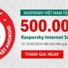 Kaspersky Lab tặng 500.000 bản quyền KIS for Android tại Việt Nam