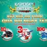 """Danh sách khách hàng trúng thưởng chương trình khuyến mãi """"Kaspersky – Kết nối an toàn, quà vui ngày Tết"""""""