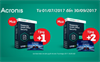 Mua Kaspersky Small Office Security tặng Acronis True Image 2017