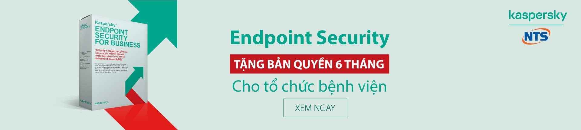 Mua Kaspersky Small Office Security tặng Acronis T