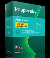 Kaspersky Anti-Virus Gia hạn